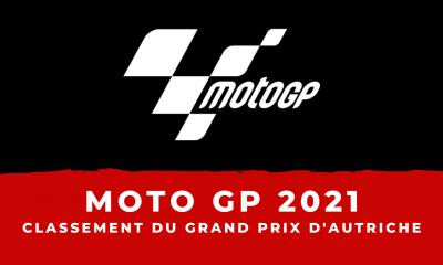 MotoGP - Grand Prix d'Autriche 2021 classement et résultats