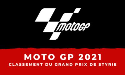 MotoGP - Grand Prix de Styrie 2021 le classement