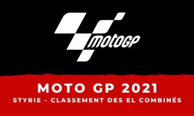 MotoGP - Grand Prix de Styrie 2021 le classement des essais libres combinés