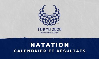 Natation - Jeux Paralympiques de Tokyo calendrier et résultats
