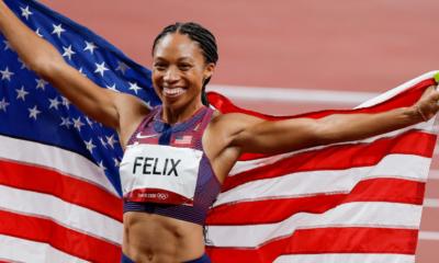 JO Tokyo 2020 - Athlétisme Les USA d'Allyson Felix en or sur le 4x400 mètres