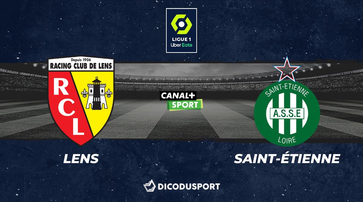 Pronostic Lens - Saint-Étienne, 2ème journée de Ligue 1