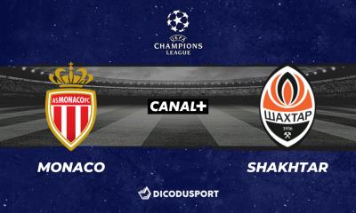 Pronostic Monaco - Shakhtar Donetsk, barrage aller de la Ligue des champions