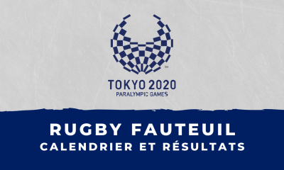 Rugby fauteuil - Jeux Olympiques de Tokyo calendrier et résultats