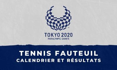 Tennis fauteuil - Jeux Paralympiques de Tokyo calendrier et résultats