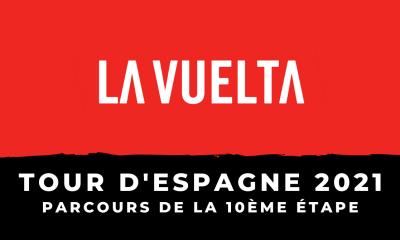 Tour d'Espagne 2021 - 10ème étape le parcours en détail