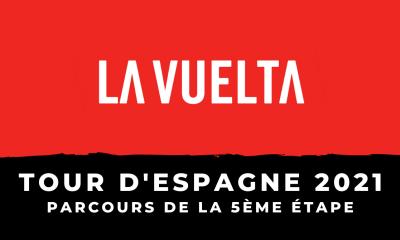 Tour d'Espagne 2021 - 5ème étape le parcours en détail