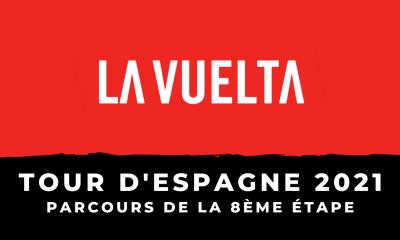 Tour d'Espagne 2021 - 8ème étape le parcours en détail