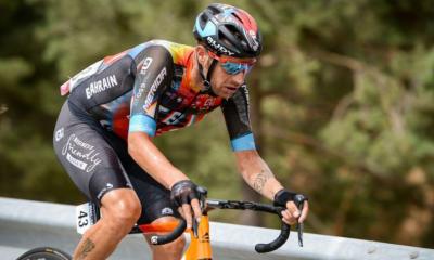 Tour d'Espagne 2021 Damiano Caruso s'impose à l'Alto de Velefique