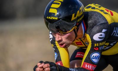Tour d'Espagne 2021 Primoz Roglic frappe fort sur le chrono de la 1ère étape