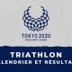 Triathlon - Jeux Paralympiques de Tokyo calendrier et résultats