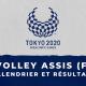 Volley assis féminin - Jeux Paralympiques de Tokyo calendrier et résultats