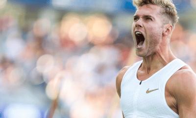 16 septembre 2018 Kevin Mayer bat le record du monde du décathlon