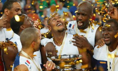 22 septembre 2013 : L'équipe de France de basket, championne d'Europe