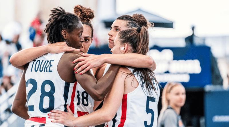 Basket 3x3 - Europe Cup : Les Bleues surclassent Israël et l'Allemagne pour filer en quarts