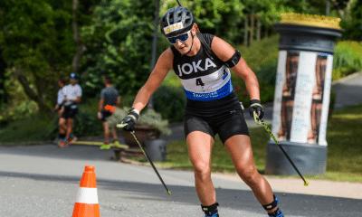 Biathlon Summer Tour Julia Simon championne de France de sprint court
