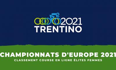 Championnats d'Europe de cyclisme le classement de la course en ligne élites femmes