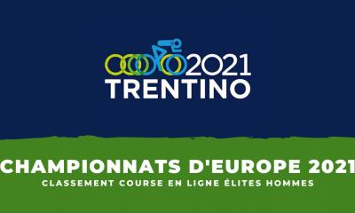 Championnats d'Europe de cyclisme : le classement de la course en ligne élites hommes