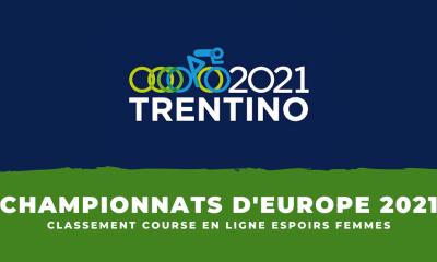 Championnats d'Europe de cyclisme le classement de la course en ligne espoirs femmes