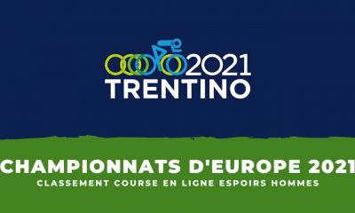 Championnats d'Europe de cyclisme le classement de la course en ligne espoirs hommes