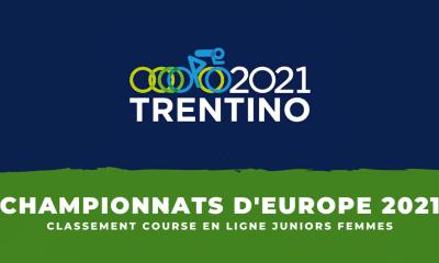Championnats d'Europe de cyclisme le classement de la course en ligne juniors femmes