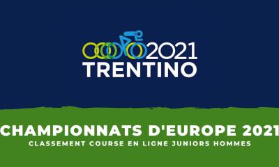 Championnats d'Europe de cyclisme le classement de la course en ligne juniors hommes