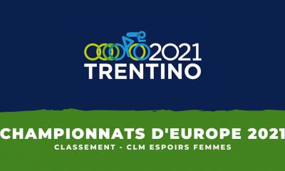 Championnats d'Europe de cyclisme le classement du contre-la-montre espoirs femmes