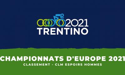 Championnats d'Europe de cyclisme le classement du contre-la-montre espoirs hommes