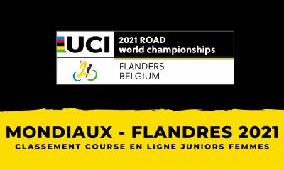 Championnats du monde 2021 : le classement de la course en ligne juniors femmes