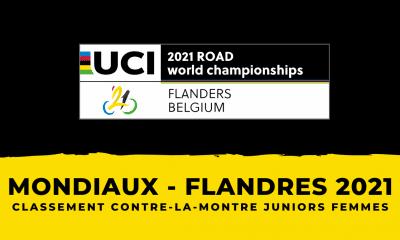 Championnats du monde de cyclisme : le classement du contre-la-montre juniors femmes