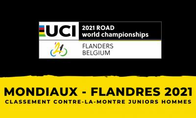 Championnats du monde de cyclisme : le classement du contre-la-montre juniors hommes