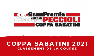 Coppa Sabatini 2021 : le classement