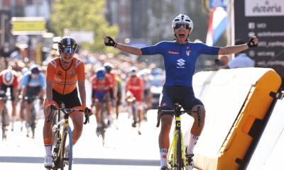 Cyclisme - Flandres 2021 - Elisa Balsamo championne du monde élite sur la course en ligne