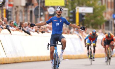 Cyclisme - Flandres 2021 - Filippo Baroncini sacré champion du monde espoirs
