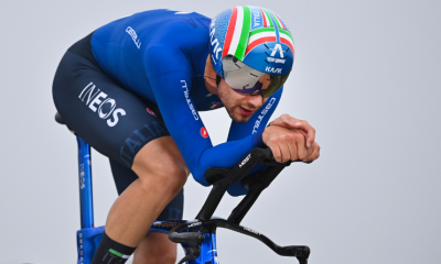 Cyclisme - Flandres 2021 Filippo Ganna conserve son titre du chrono devant Van Aert et Evenepoel