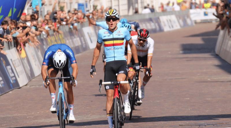 Cyclisme - Trente 2021 Thibau Nys champion d'Europe chez les espoirs