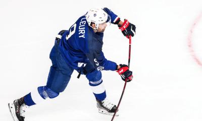 Damien Fleury «J'ai envie d'aider les Bleus à remonter dans l'élite du hockey»