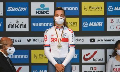 Flandres 2021 - Zoe Backstedt championne du monde juniors sur la course en ligne