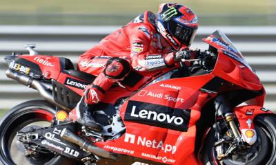 Grand Prix d'Aragon : Première victoire en MotoGP pour Francesco Bagnaia