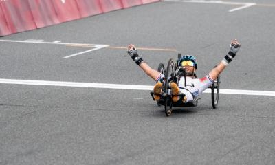 Jeux Paralympiques de Tokyo - Cyclisme Florian Jouanny en or sur le course en ligne H2