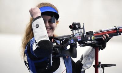 Mondiaux de tir Océanne Muller championne du monde juniors à la carabine à 10 mètres