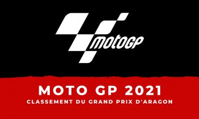 MotoGP - Grand Prix d'Aragon 2021 : le classement de la course