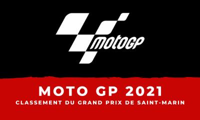 MotoGP - Grand Prix de Saint-Marin 2021 : le classement de la course