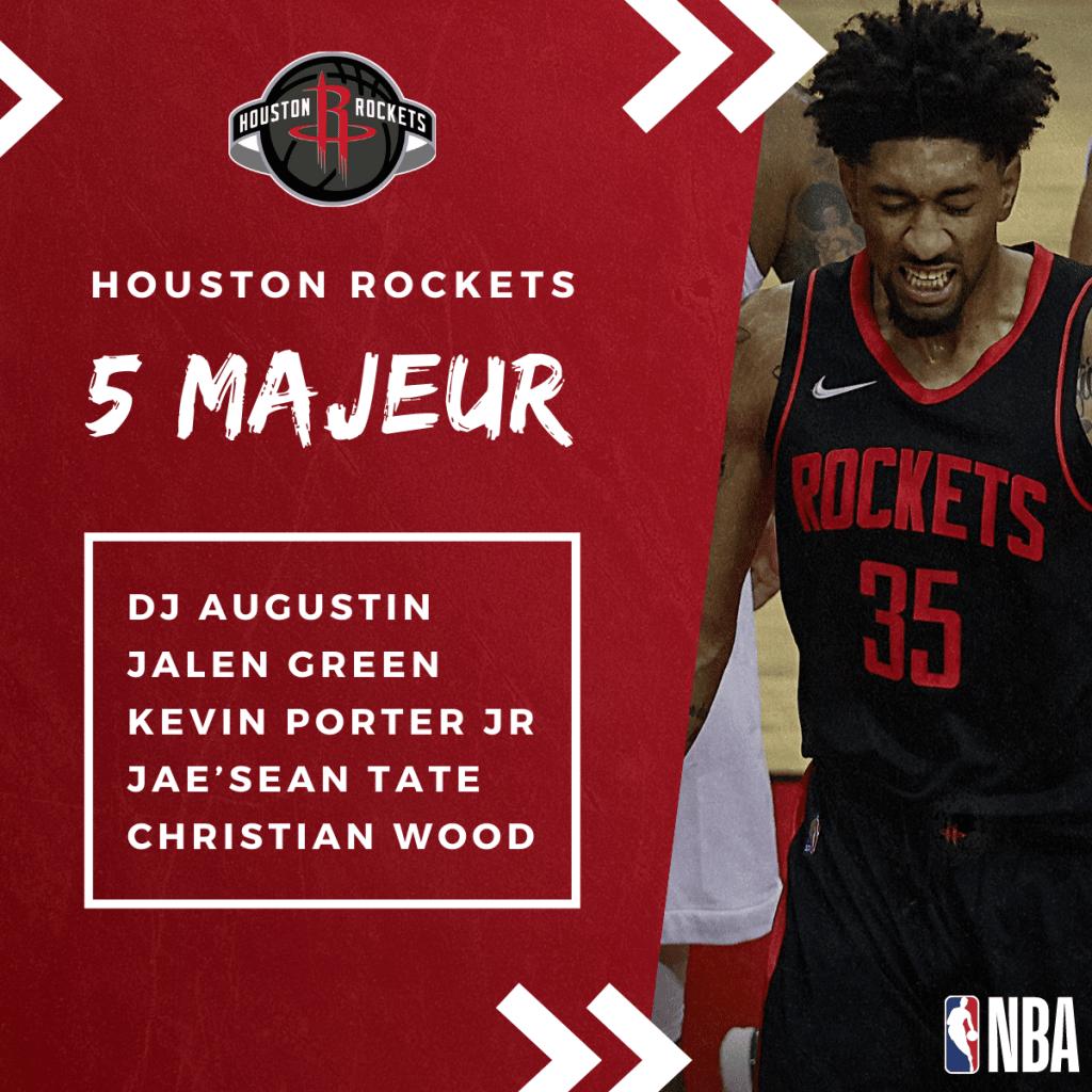 NBA Preview - Le 5 Majeur des Houston Rockets