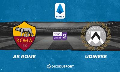 Pronostic AS Rome - Udinese, 5ème journée de Serie A