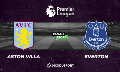 Pronostic Aston Villa - Everton, 5ème journée de Premier League