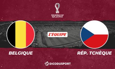Pronostic Belgique - République Tchèque, qualifications Coupe du monde 2022