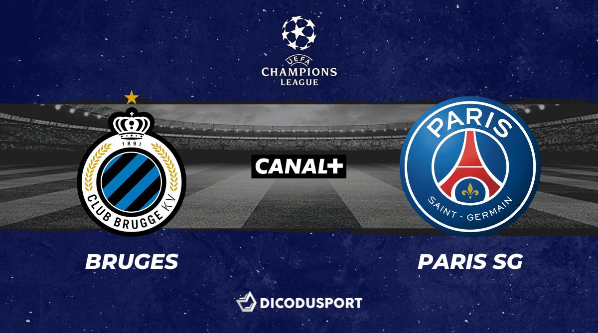 Pronostic Bruges - PSG, 1ère journée de Ligue des champions
