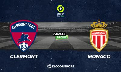 Pronostic Clermont - Monaco, 8ème journée de Ligue 1