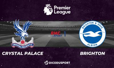 Pronostic Crystal Palace - Brighton, 6ème journée de Premier League